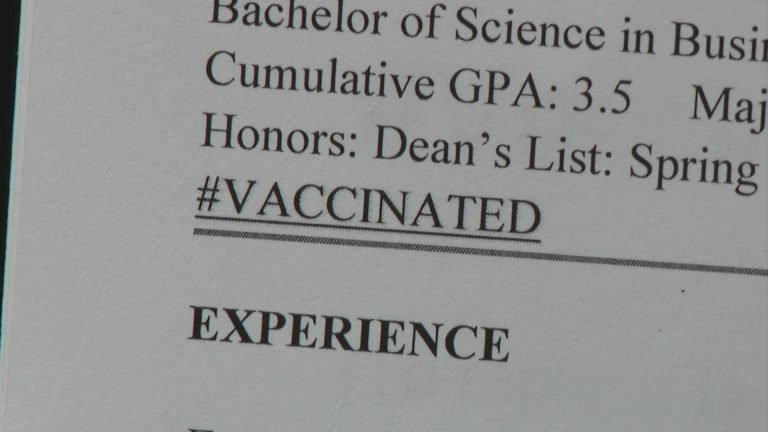 Surveys Show Job Options May Become Limited For The Unvaccinated